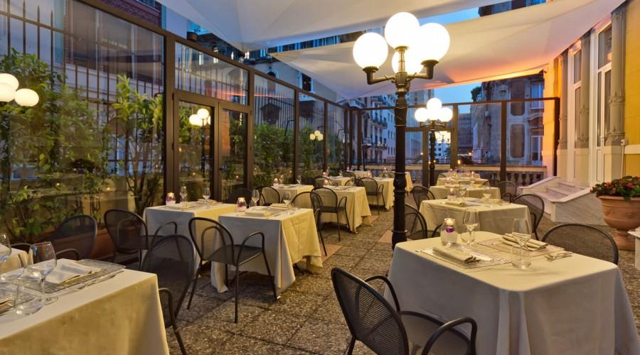 La Terrazza del Ristorante Giotto | Hotel Bristol Palace - Hotel 4 ...