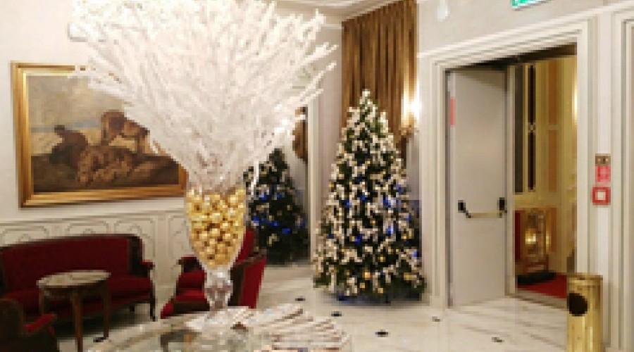 Hotel Bristol Palace Genoa Christmas