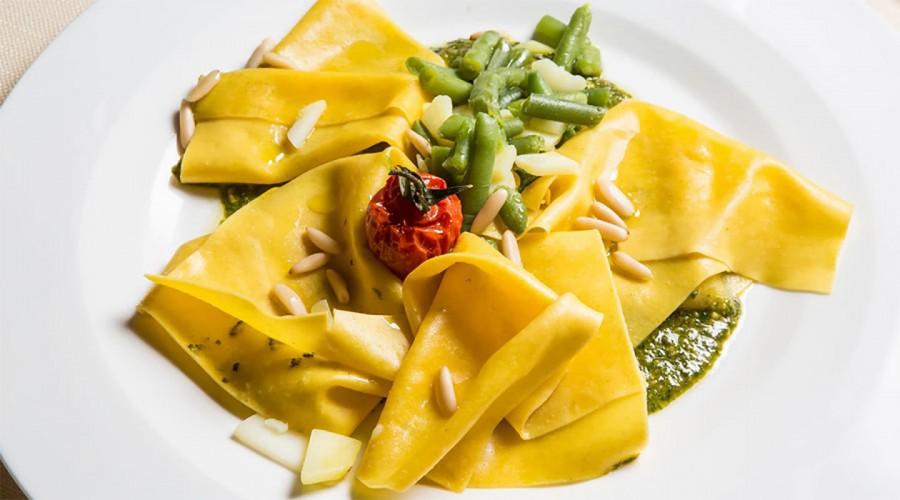 Uno degli splendidi piatti del ristorante Giotto