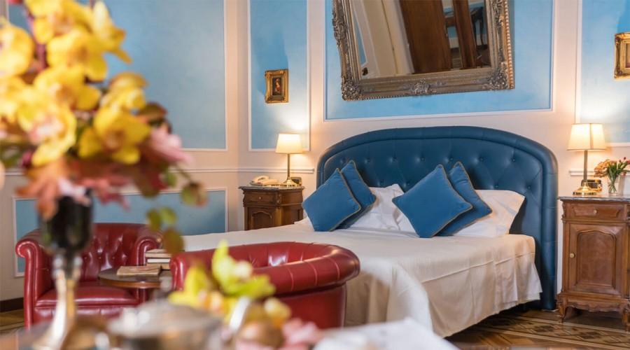 Una delle suite del Bristol Palace